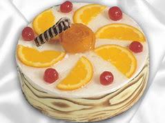 lezzetli pasta satisi 4 ile 6 kisilik yas pasta portakalli pasta  Bartın çiçekçi mağazası