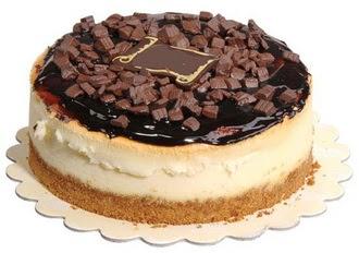 pasta yolla 4 ile 6 kisilik çikolatali yas pasta  Bartın online çiçek gönderme sipariş