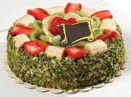 pasta gönder  4 ile 6 kisilik karisik meyvali yas pasta  Bartın internetten çiçek siparişi