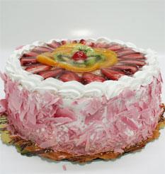 görsel pastacilar 4 ile 6 kisilik yas pasta karisik meyvali  Bartın çiçek online çiçek siparişi