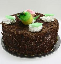 4 ile 6 kisilik yas pasta çikolatali leziz pastane ürünü  Bartın cicekciler , cicek siparisi
