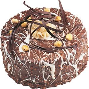 pasta satisi 4 ile 6 kisilik çikolatali yas pasta  Bartın İnternetten çiçek siparişi