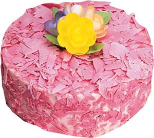 pasta siparisi 4 ile 6 kisilik framboazli yas pasta  Bartın çiçek yolla