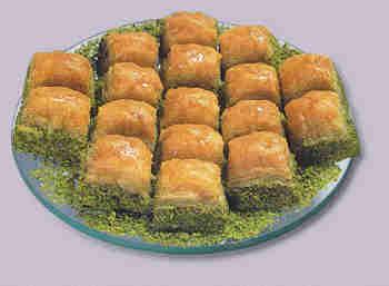 pasta tatli satisi essiz lezzette 1 kilo fistikli baklava  Bartın internetten çiçek siparişi