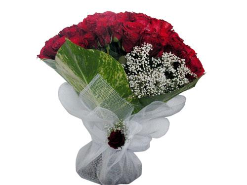 25 adet kirmizi gül görsel çiçek modeli  Bartın çiçek servisi , çiçekçi adresleri