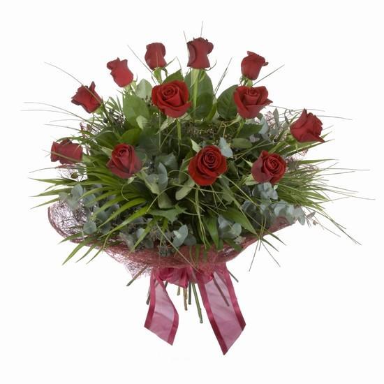 Etkileyici buket 11 adet kirmizi gül buketi  Bartın internetten çiçek satışı