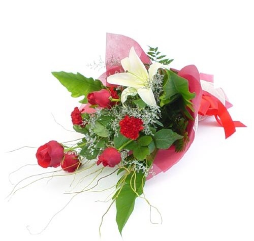 Mevsim çiçeklerinden karisik buket  Bartın cicek , cicekci