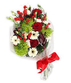 Karisik mevsim buketi çiçek tanzimi  Bartın internetten çiçek siparişi