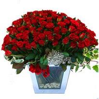 Bartın çiçekçiler   101 adet kirmizi gül aranjmani