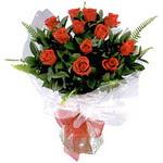 Bartın çiçek , çiçekçi , çiçekçilik  9 adet güzel bir gül buketi
