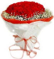Bartın çiçekçiler  41 adet kirmizi gül buketi