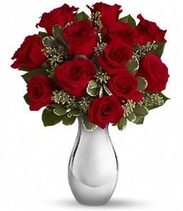 Bartın çiçek siparişi vermek   vazo içerisinde 11 adet kırmızı gül tanzimi