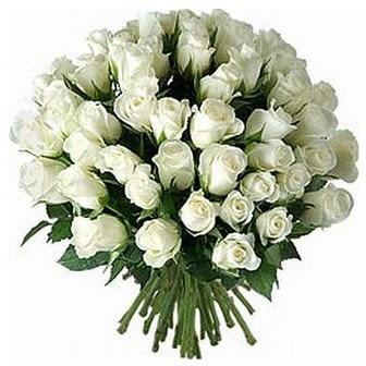 Bartın çiçek servisi , çiçekçi adresleri  33 adet beyaz gül buketi