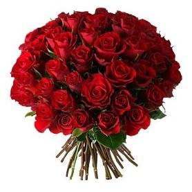 Bartın çiçek , çiçekçi , çiçekçilik  33 adet kırmızı gül buketi
