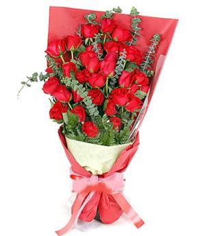 Bartın çiçek gönderme  37 adet kırmızı güllerden buket