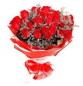 Bartın çiçek mağazası , çiçekçi adresleri  12 adet kırmızı güllerden görsel buket