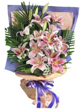 7 dal kazablankadan görsel buket  Bartın kaliteli taze ve ucuz çiçekler