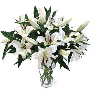 Bartın çiçekçi telefonları  3 dal görsel casablanca vazo tanzimi