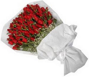 Bartın İnternetten çiçek siparişi  51 adet kırmızı gül buket çiçeği