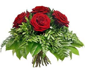 Bartın çiçek mağazası , çiçekçi adresleri  5 adet kırmızı gülden buket
