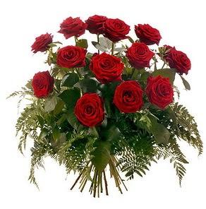 Bartın internetten çiçek satışı  15 adet kırmızı gülden buket