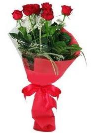 Çiçek yolla sitesinden 7 adet kırmızı gül  Bartın internetten çiçek satışı