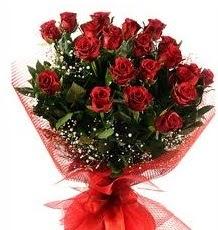 İlginç Hediye 21 Adet kırmızı gül  Bartın internetten çiçek siparişi