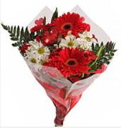 Mevsim çiçeklerinden görsel buket  Bartın çiçekçiler