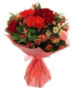 karışık mevsim buketi  Bartın internetten çiçek siparişi