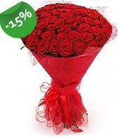 51 adet kırmızı gül buketi özel hissedenlere  Bartın çiçek siparişi sitesi