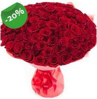 Özel mi Özel buket 101 adet kırmızı gül  Bartın anneler günü çiçek yolla