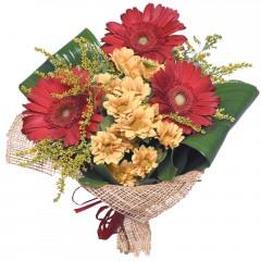 karışık mevsim buketi  Bartın çiçekçi mağazası