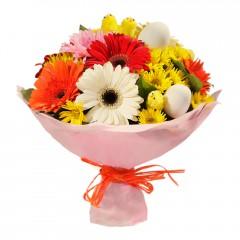Karışık mevsim buketi Mevsimsel çiçek  Bartın internetten çiçek siparişi
