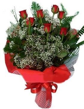 7 kırmızı gül buketi  Bartın çiçek servisi , çiçekçi adresleri