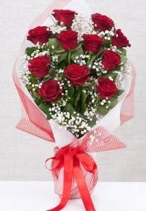 11 kırmızı gülden buket çiçeği  Bartın 14 şubat sevgililer günü çiçek