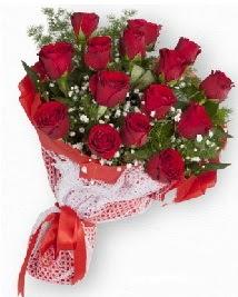 11 kırmızı gülden buket  Bartın güvenli kaliteli hızlı çiçek