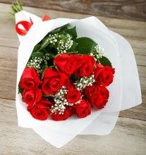 9 kırmızı gülden buket çiçeği  Bartın çiçek gönderme