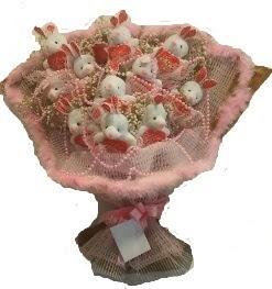 12 adet tavşan buketi  Bartın çiçek mağazası , çiçekçi adresleri