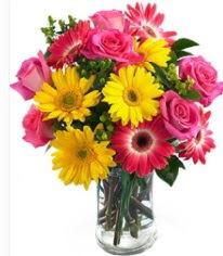 Vazoda Karışık mevsim çiçeği  Bartın çiçekçi mağazası