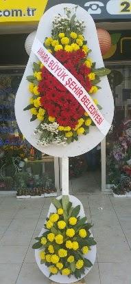 Çift katlı düğün nikah açılış çiçek modeli  Bartın çiçekçi mağazası