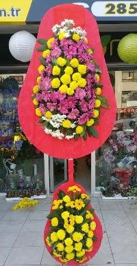 Çift katlı düğün nikah açılış çiçek modeli  Bartın online çiçek gönderme sipariş