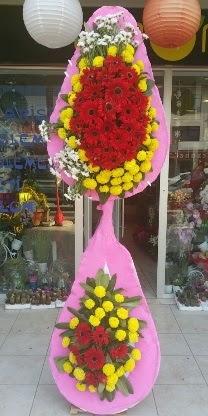 Çift katlı düğün nikah açılış çiçek modeli  Bartın çiçekçiler