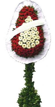 Çift katlı düğün nikah açılış çiçek modeli  Bartın İnternetten çiçek siparişi
