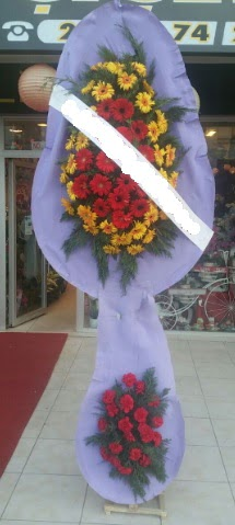 Çift katlı nikah düğüne çiçek modeli  Bartın internetten çiçek siparişi