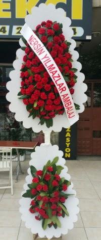 Çift katlı düğün nikah çiçeği modeli  Bartın hediye çiçek yolla