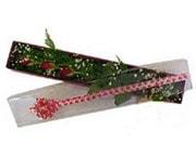 Bartın hediye çiçek yolla  3 adet gül.kutu yaldizlidir.