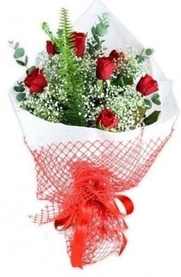 7 adet gülden kız arkadaşıma çiçek  Bartın çiçekçi telefonları