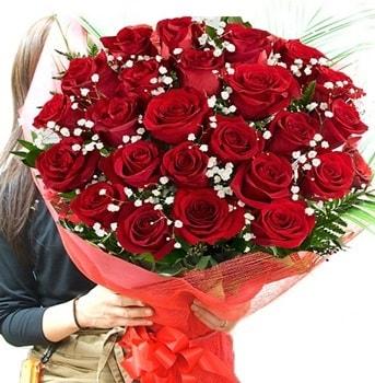 Kız isteme çiçeği buketi 33 adet kırmızı gül  Bartın çiçek gönderme sitemiz güvenlidir