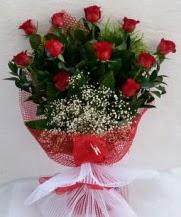 11 adet kırmızı gülden görsel çiçek  Bartın çiçek satışı