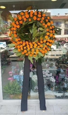 Cenaze çiçeği cenaze çelengi çiçek modeli  Bartın çiçek gönderme